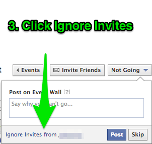Block Facebook Event Invites in 4 Easy Steps The Nerdy DJ