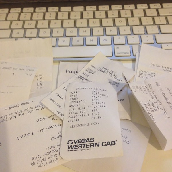 shoeboxed review: get rid of receipt clutter