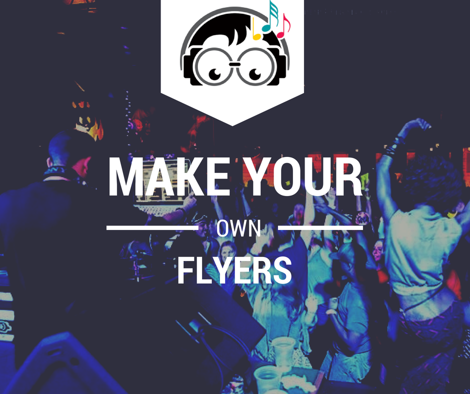 how to make flyers